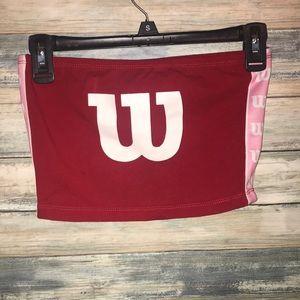Forever 21 x Wilson sleeveless crop top